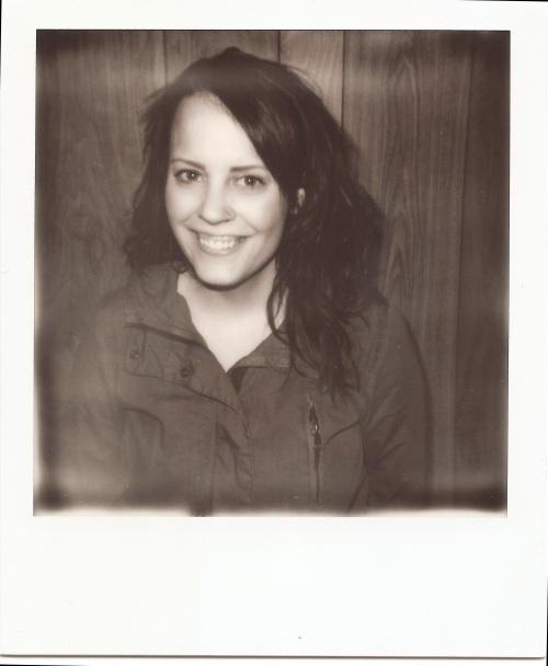 BW - Sarah -Polaroid